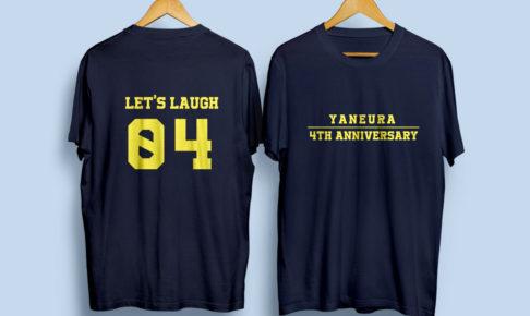 背番号スタッフTシャツのデザイン